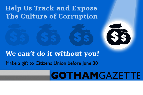 Digital ad for Citizens Union, Gotham Gazette site